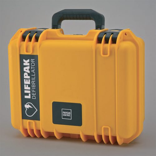 PHYSIO-CONTROL HARD SHELL, WATER-TIGHT AED CARRYING CASE FOR CR PLUS AND EXPRESS AEDS