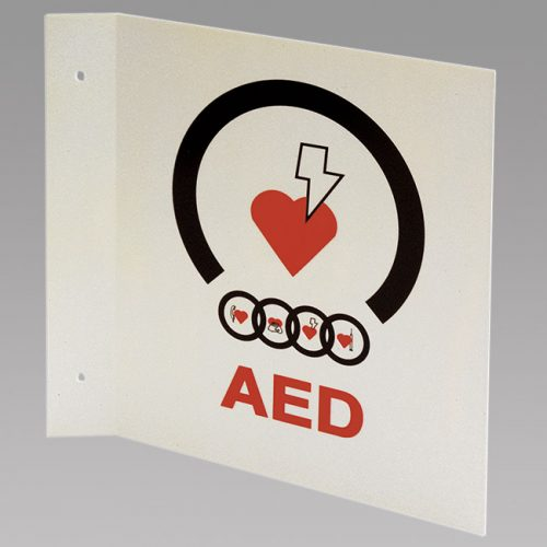 T-MOUNT AED WALL SIGN