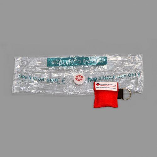 Key Chain CPR Barrier Shield