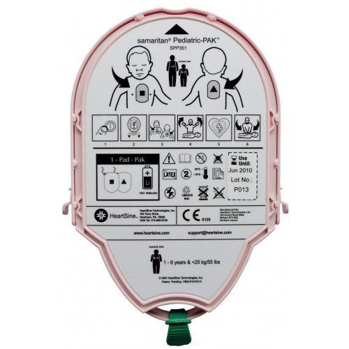Heartsine Samaritan Pediatric Pad-Pak